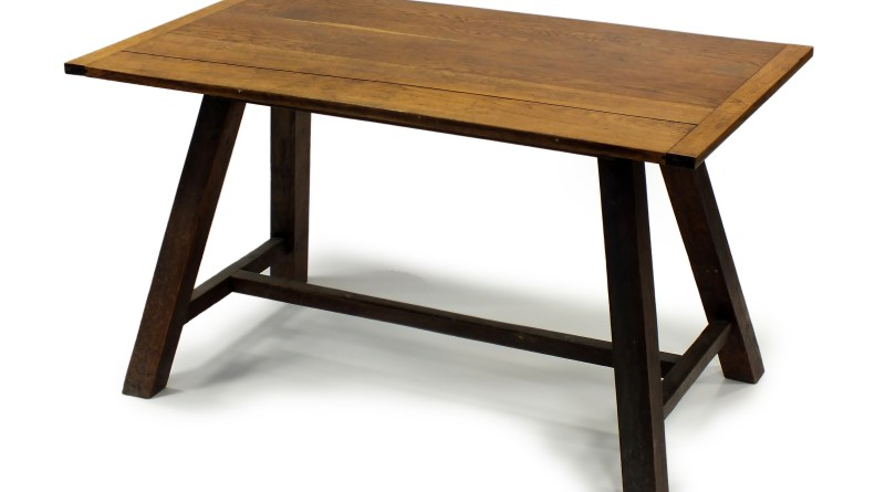 The Augustus John table in Halls sale