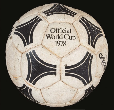 The 1978 official World Cup football