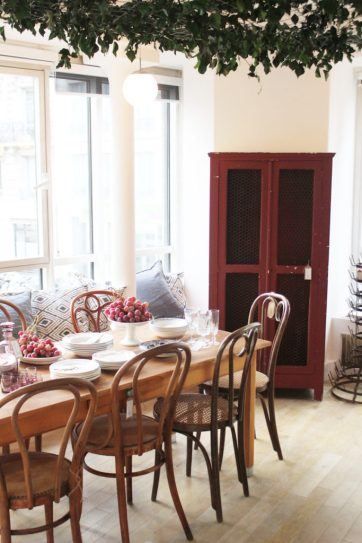 Antique furniture works well in today's interiors