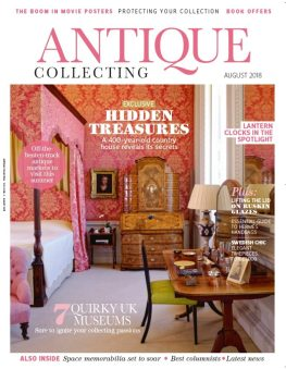 August 2018 edition of Antique Collecting magazine