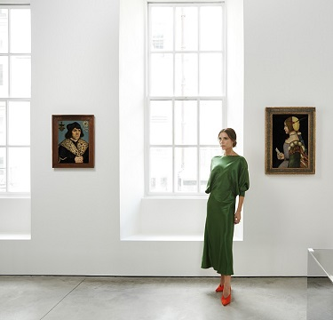 Victoria Beckham and old masters paintings in exhibition