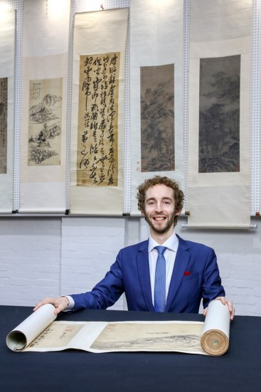 Lazarus Halstead of Chiswick Auctions' Asian Art Department