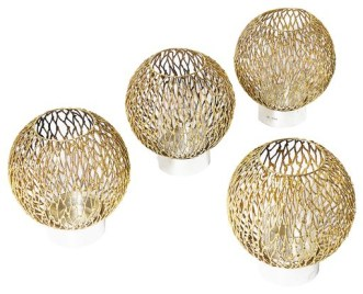 Suart Devlin silver candle holders