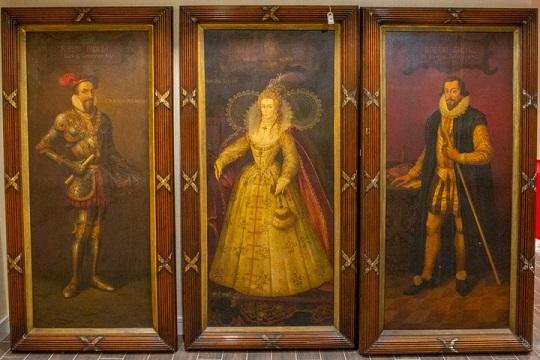 Elizabethan style paintings