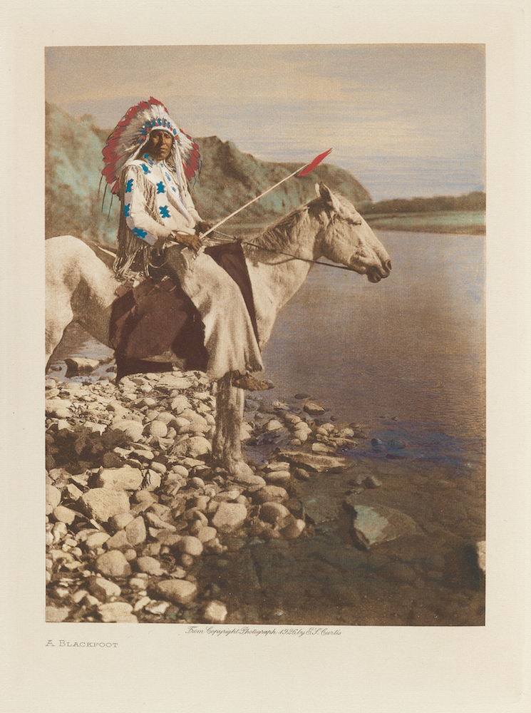 Image from The North American Indian set to sell at auction