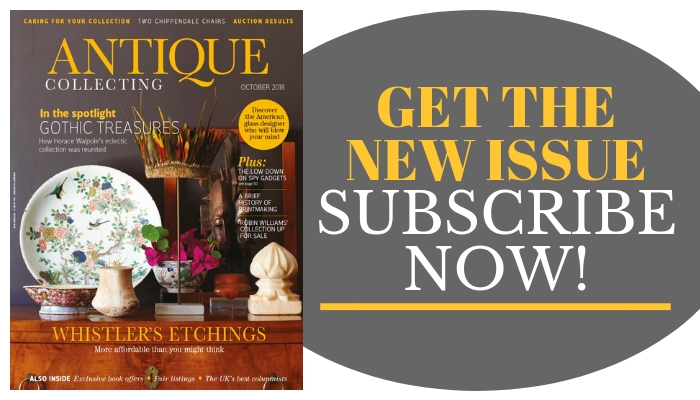 Get the new issue of Antique Collecting magazine