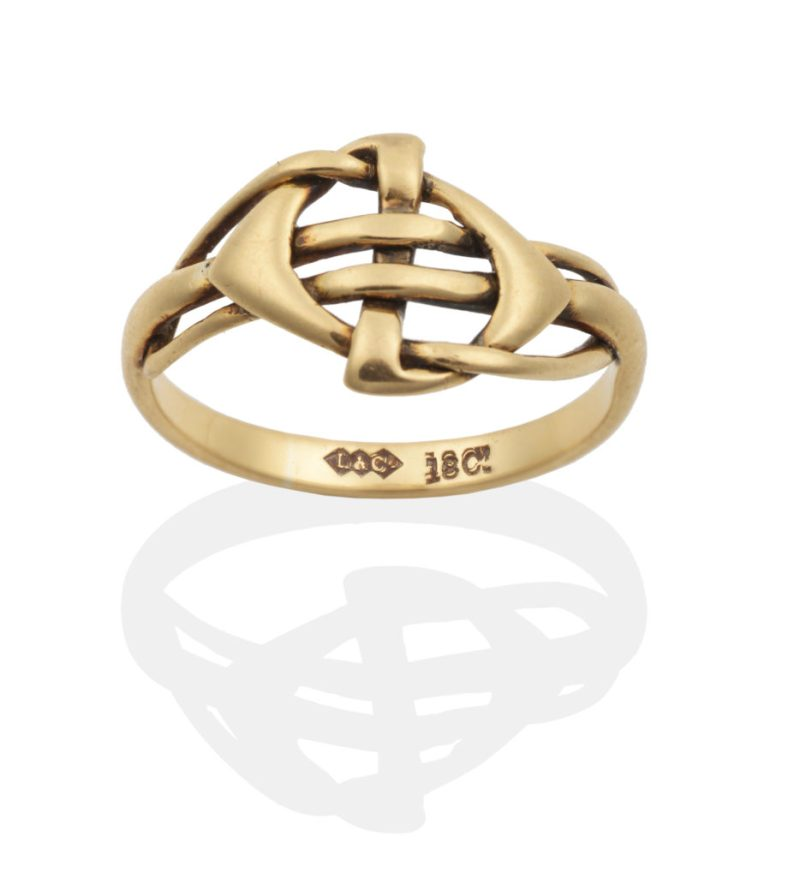 Archibald Knox Ring in the same sale