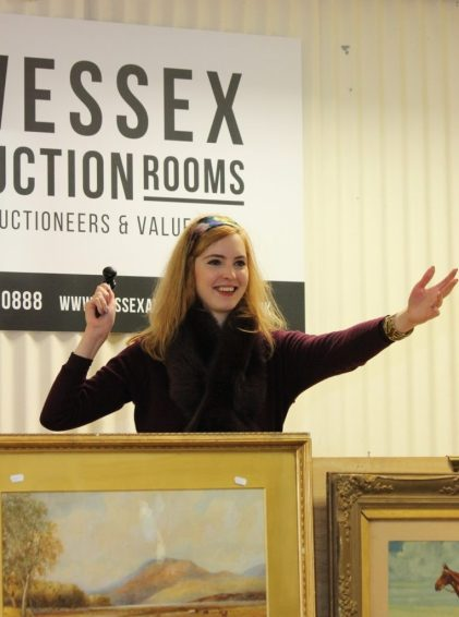 Isabel Balmer, Auctioneer and Head Valuer Wessex Auction Rooms