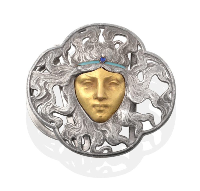 The Rene Lalique Buckle in sale