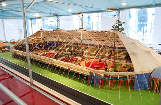 Silvers model circus in London saleroom