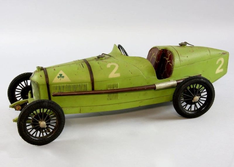 French tin toy car in Ewbank's sale