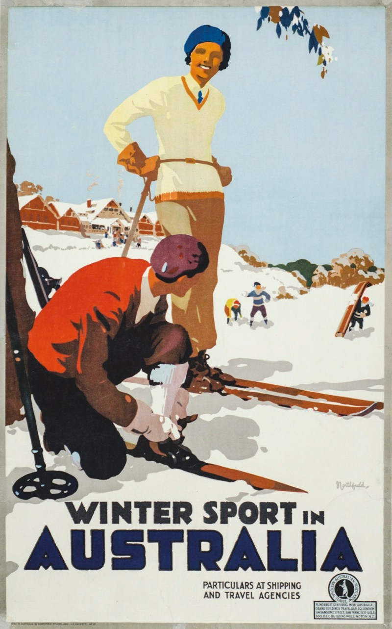 Vintage ski posters are in demand