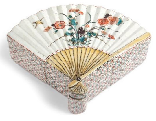 Christie's Asian art sale includes this Japanese Kutani box from Soame Jenyns collection