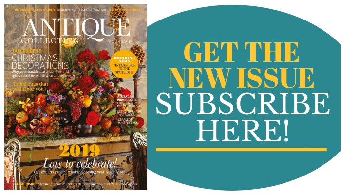 NEW ISSUE of Antique Collecting magazine - Subscribe now (1)