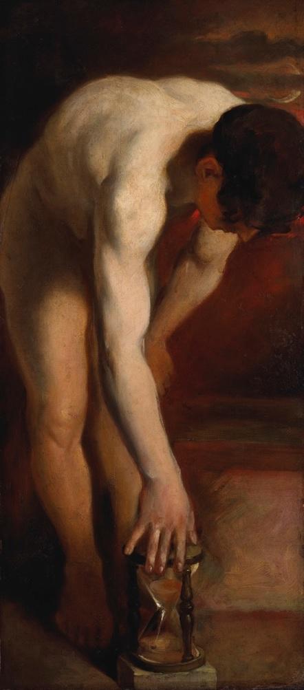 William Etty - Male nude in Sex & Sensuality exhibition