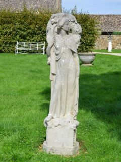 Arts and Crafts stone statue