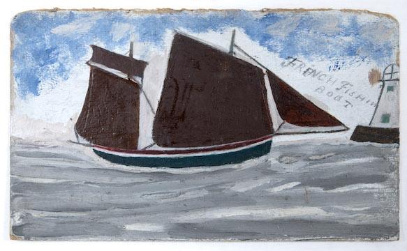 French Fishing Boat - Alfred Wallis