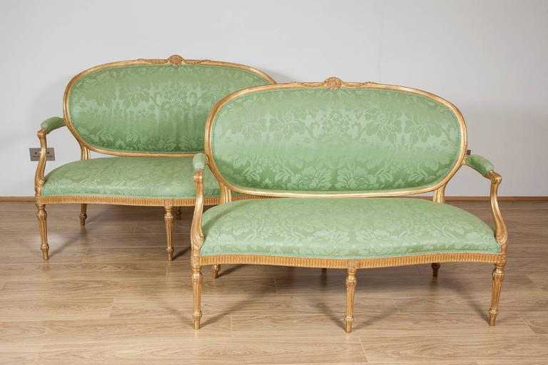 Antique sofas from John Bly Antiques
