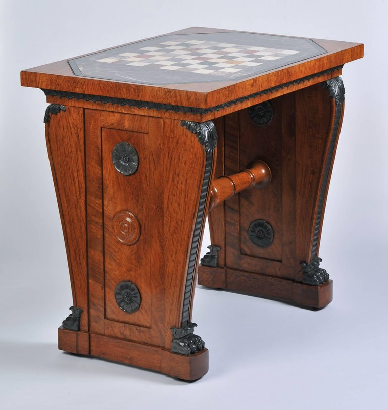 Antique chessboard from John Bly Antiques