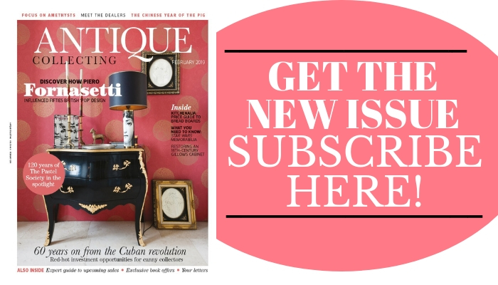 Subscribe to new issue of Antique Collecting magazine