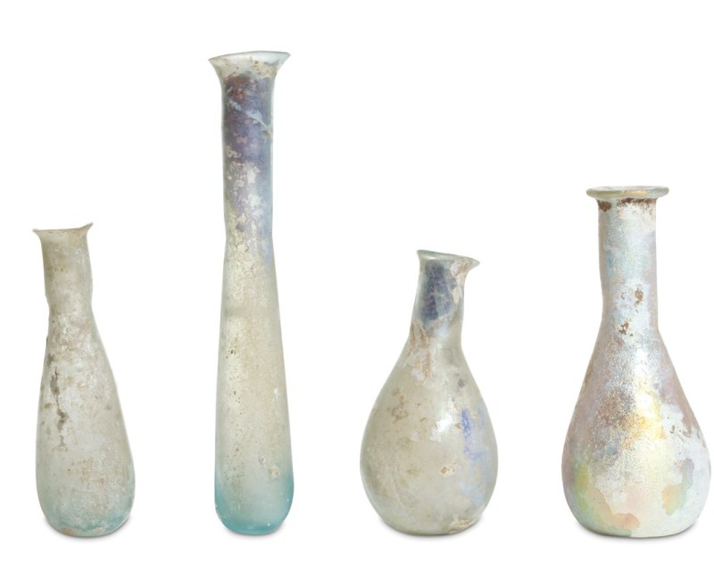 A collection of vase antiquities