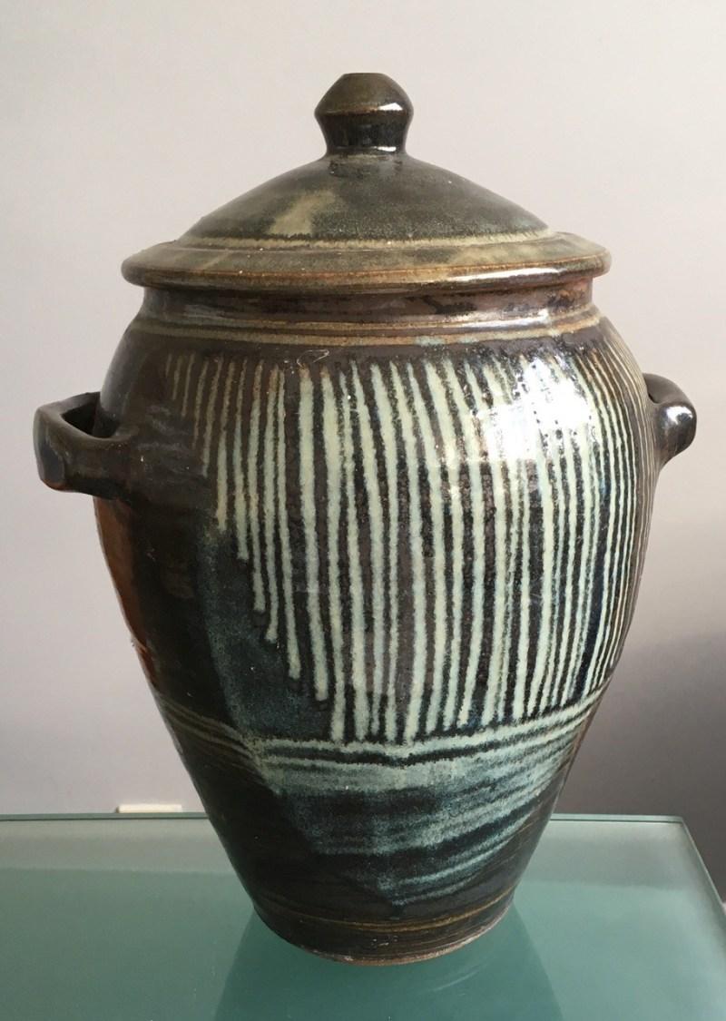 Claire Sutcliffe stoneware jar