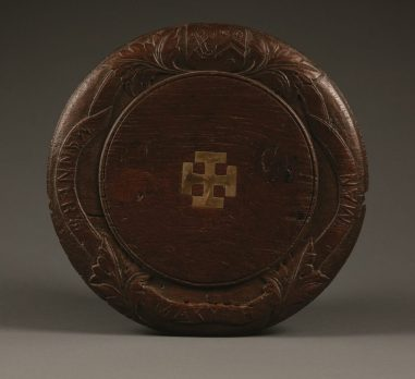 A 19th-century antique breadboard