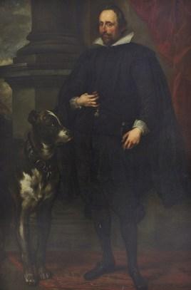 Wolfgang Wilhelm Count Palatine of Neuburg by a follower of Anthony Van Dyck