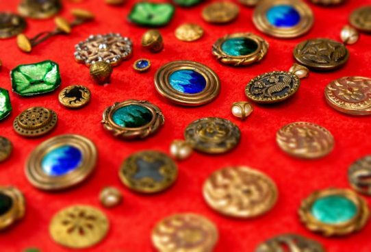 Antique Buttons collection