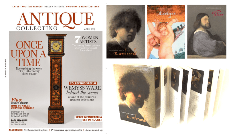 Antique Collecting magazine and book offer