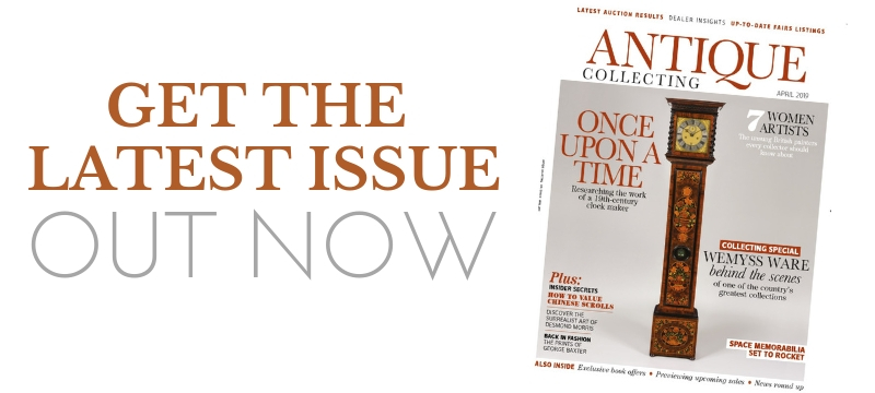 Get the latest issue of Antique Collecting