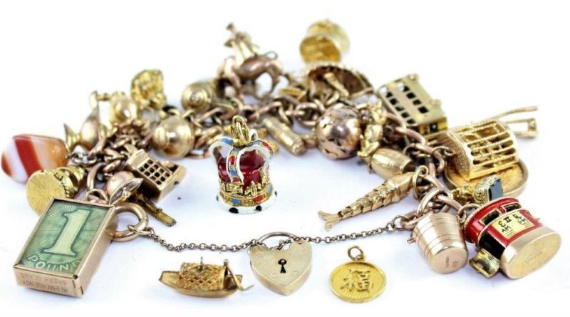 Bracelet worn during the Lakonia disaster