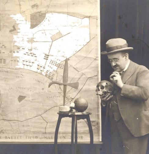 Jeweller James R. Ogden delivering a lecture