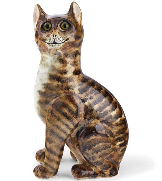 Wemyss ware cat