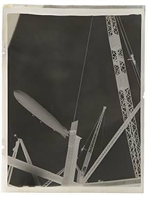 London zeppelin by Francis Bruguière