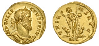 The rare Roman coin found in a Kent field