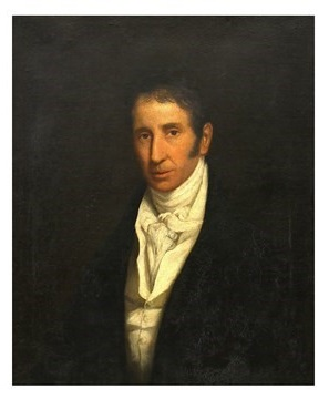 A portrait by John Constable of his uncle
