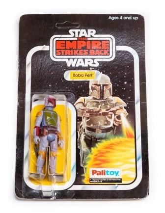 Vintage Star Wars toys Boba Fett