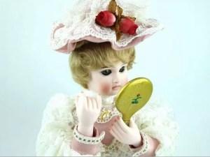 オートマタ人形『化粧する貴婦人』