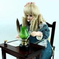 Musee Baud・ジュモー/オートマタ人形「手紙を書く少女」