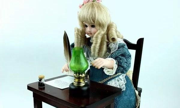 オートマタ・手紙を書く少女