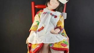 稲邊智津子作 創作人形