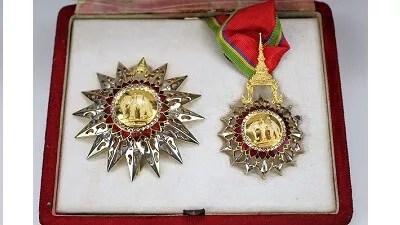 タイ王国・白象二等勲章