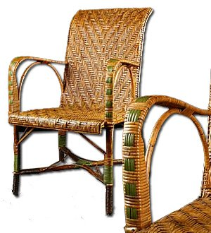 Antique Rattan Furniture Collectors  1870 to 1930    Antique Rattan Chair