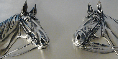 Silver Plated Horse