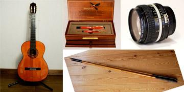 画像:楽器・釣り具など趣味の物