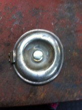 German Silver Teapots damaged lid before