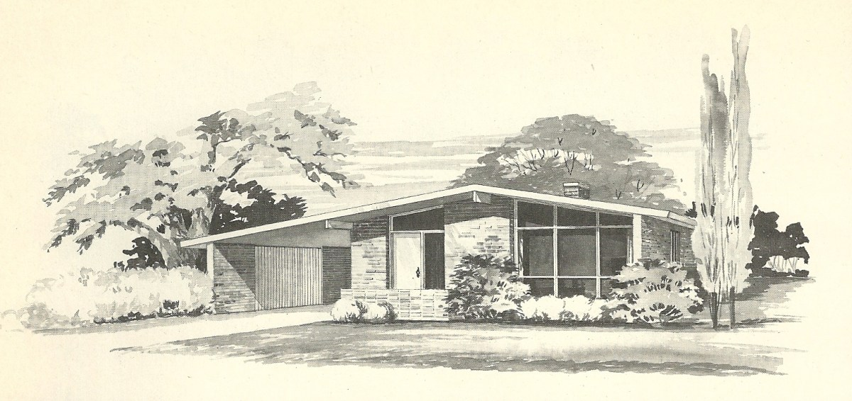 Vintage House Plans 1960s: More Mid Century Modern Homes