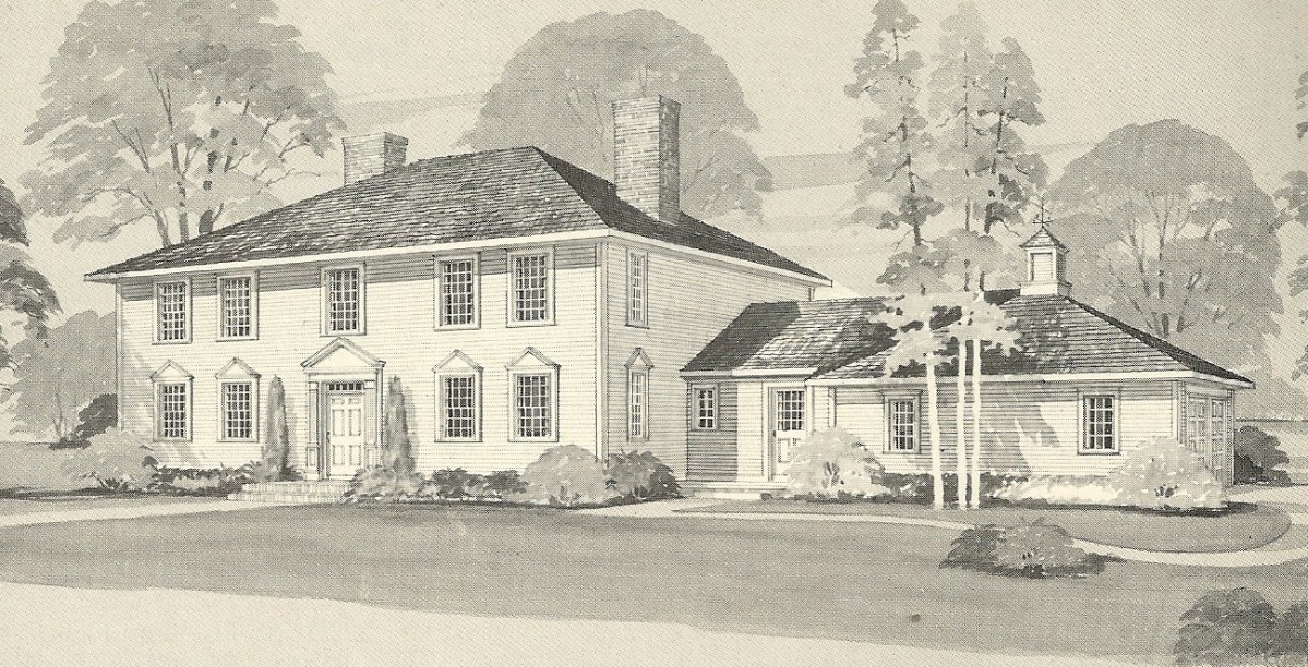 Vintage House Plans 1970s Early Colonial Part 1