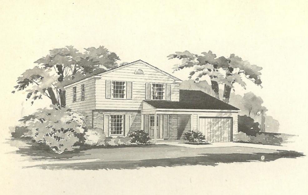 Vintage House Plans 1970s Farmhouse Variations Part 2